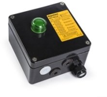 Raychem JBU-100-L-E Modular Junction Box 4x M25 with Indication Light (green) ATEX