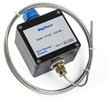 MONI-PT100-4/20MA Temperature Sensor with MI Cable, Pt100, with Transmitter 4-20 mA and Junction Box, EEx ia