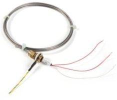 MONI-PT100-EXE-SENSOR Temperature Sensor with MI Cable (with M16 gland), Pt100, EEx e