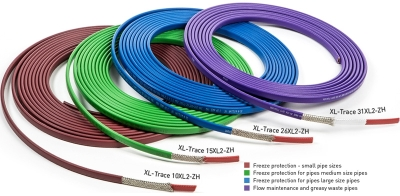 Raychem 10XL2-ZH Self Regulating Trace Heating Cable (10W/m at 5°C)