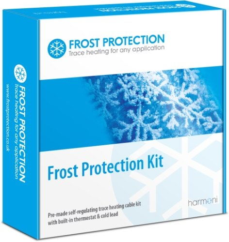 8m Pre-made (12W L/m) Frost Protection Trace Heating Kit with Thermostat