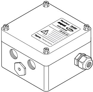 Raychem JB-EX-20-EP Universal Junction Box 3x M20 1x M25 with Earth-Plate ATEX