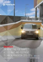 Snow melting for ramps Technical handbook