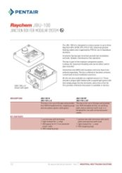 Raychem JBU-100 Technical Specification Sheet