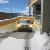 Ramp Snow Melting